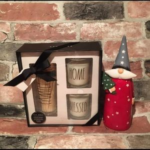 Rae Dunn MATCHES & CANDLE GIFT SET